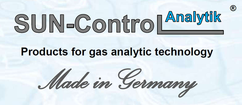 SUN-Control-Analytik - Products for gas analytic technology